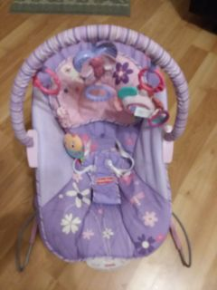 Fisher-Price calming bouncer excellent used condition