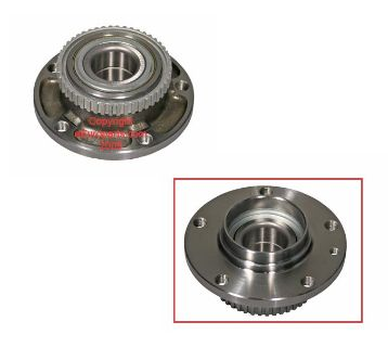 Buy NEW Febi Wheel Bearing and Hub - Front 04043 BMW OE 31211129386 motorcycle in Windsor, Connecticut, US, for US $52.14