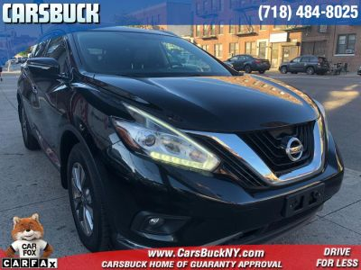 2015 Nissan Murano AWD 4dr  SL (Magnetic Black Metallic)