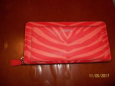 Authentic like new Coach wallet