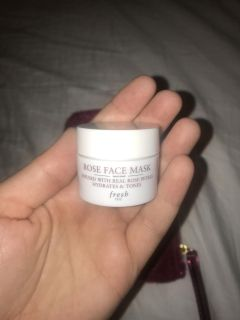 Rose Face Mask - New
