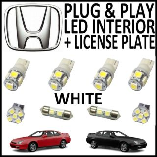 Sell 8x Green LED lights interior package kit for 1997-2001 Honda Prelude HL1G motorcycle in Houston, Texas, US, for US $16.39