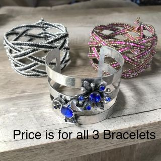 3 Beautiful Bracelets Great condition