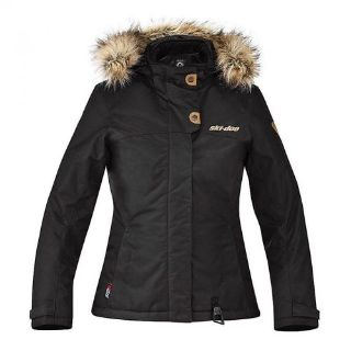 Purchase SKIDOO SKI DOO Can Am Muskoka Winter Jacket Snowmobile BRP 4407040990 Black motorcycle in Anoka, Minnesota, United States, for US $195.99