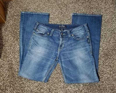 Excellent condition Silver brand jeans