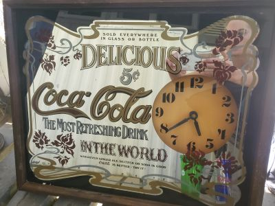 Collectors Coca Cola Clock