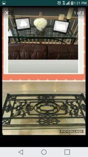 wrought iron table set..l