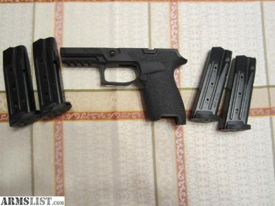 For Sale/Trade: SIG 320C Frame and Mags