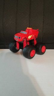 Blaze action figure with movable wheels