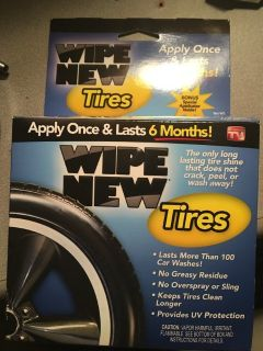 Wipe New for tires