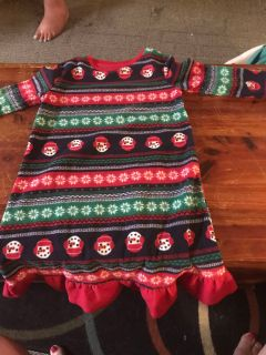 3t girls with baby doll fleece nightgown