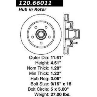 Sell StopTech 127-66011R Slotted & Drilled Rotor 1988-1994 Chevrolet GMC C1500 motorcycle in Delaware, Ohio, United States, for US $115.99