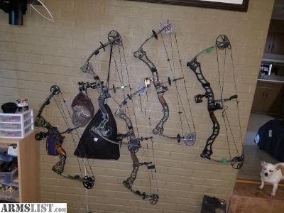 For Sale: Bowtech compound bows