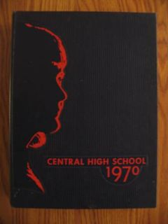 1970 Central high school yearbook