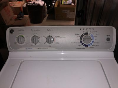 GE Washer & Dryer Set Great Condition