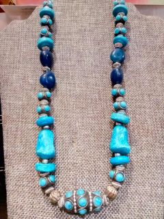 Vintage all Stone necklace