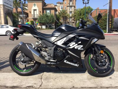 2017 Kawasaki Ninja 300 ABS Winter Test Edition Sport Motorcycles Marina Del Rey, CA