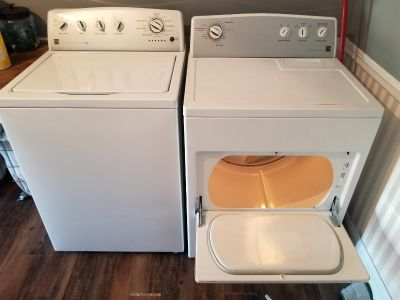 Kenmore series 500 high efficiency washer and electric dryer