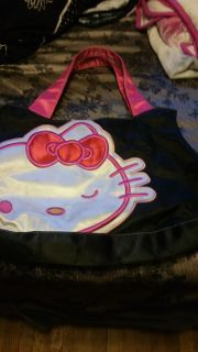 Hello kitty tote, some wear on face $5.00