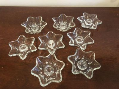 7 candle stick holders