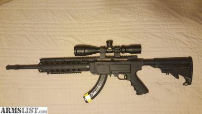 For Sale: Ruger SR22r Tactical Rifle 10/22 .22lr