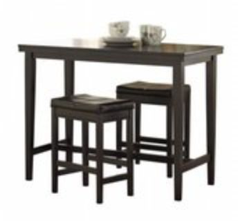 Counter Table with two Barstools