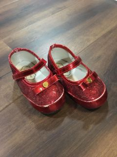 Mud pie red shoes