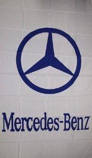 Buy MERCEDES BENZ Emblem Flag 3x5' Vertical White Banner jwx* motorcycle in Castle Rock, Washington, US, for US $17.95