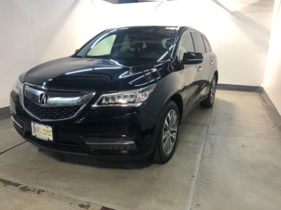 2016 Acura MDX SH-AWD 4dr w/Tech/AcuraWatch P (Crystal Black Pearl)