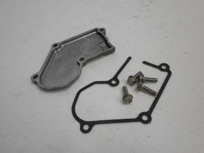 Find 2005 Kawasaki KX250 KX 250 2-stroke Power Valve Linkage Cover + Screws 05 06 07 motorcycle in Oconomowoc, Wisconsin, US, for US $15.00
