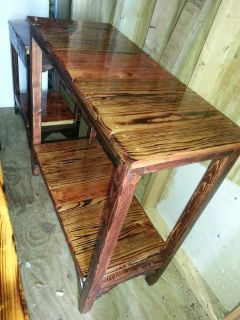 Cypress and Pine Side Table