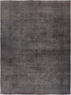 """Vintage, Hand Knotted Area Rug - 9' 1"""" x 12' 2"""""""