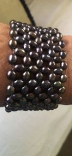 authentic fresh water pearl bracelet