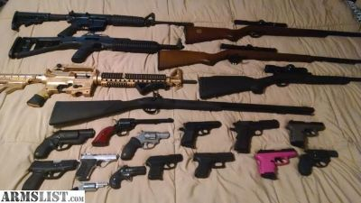 For Sale: Large Gun Collection