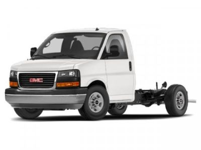 2019 GMC Savana Commercial Cutaway (Summit White)