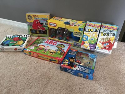 Lot of toddler and children s games