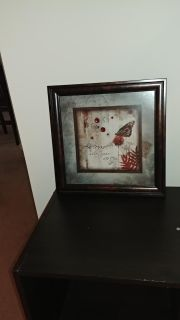 """""""Become who you are"""" picture frame"""