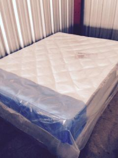 Mattress Close out  $$$ave on Queen Pillowtops