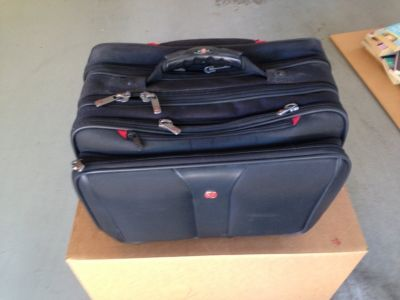"Wenger Swiss Gear Patriot 17"" Wheeled Computer Case"