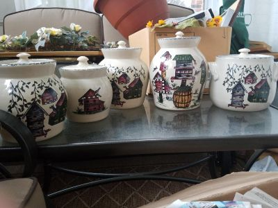 Home and garden canister set