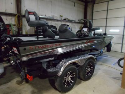2019 Lowe STINGER 188 DC WITH MERCURY 115 & TRAILER Bass Boats West Plains, MO