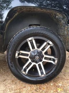 WTT My 20 Fuel Wheels w Tires (College Station)
