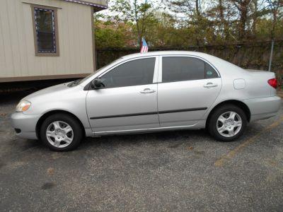 2007 Toyota Corolla CE (silver)