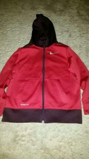 Nike Therma-Fit Hooded Zip Up Jacket Size S 6-7