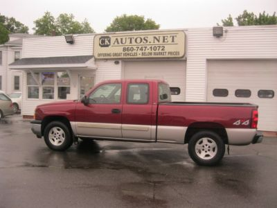 2005 Chevrolet Silverado 1500 Work Truck (Sport Red Metallic)