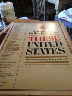 Readers digest family reference series these United States