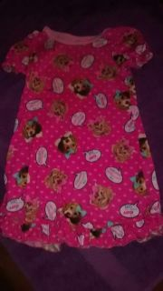 Puppies and kittens PJ gown size 24 months