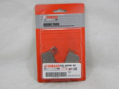 Sell YAMAHA 5UN-W0046-60 BRAKE PADS *NEW motorcycle in Rancho Cucamonga, California, US, for US $24.75