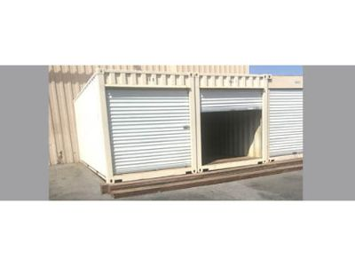 STORAGE CONTAINER NEW 20', ROOFS COATED WHITE ...