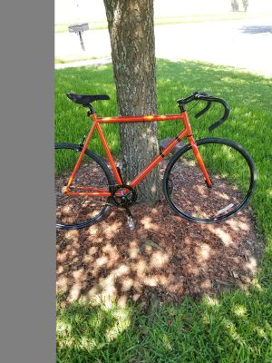 Mens Raleigh rush hour fixie bike bicycle